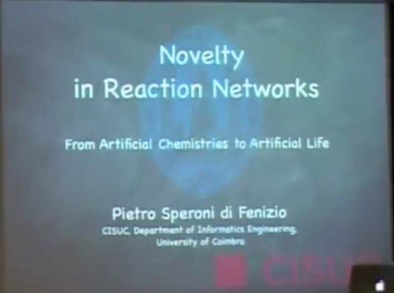 Novelty in Reaction Networks